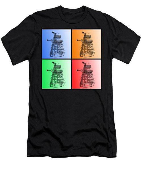 Dalek Pop Art Men's T-Shirt (Athletic Fit)