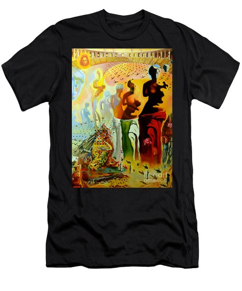 Dali Oil Painting Reproduction - The Hallucinogenic Toreador Men's T-Shirt (Athletic Fit)