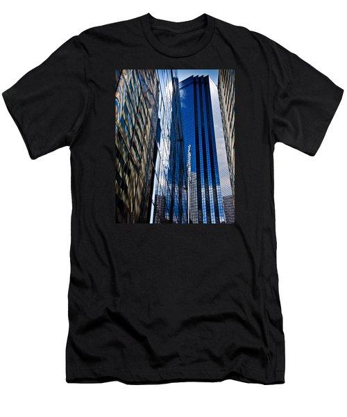 Dallas Reflections Men's T-Shirt (Slim Fit) by Mark Alder