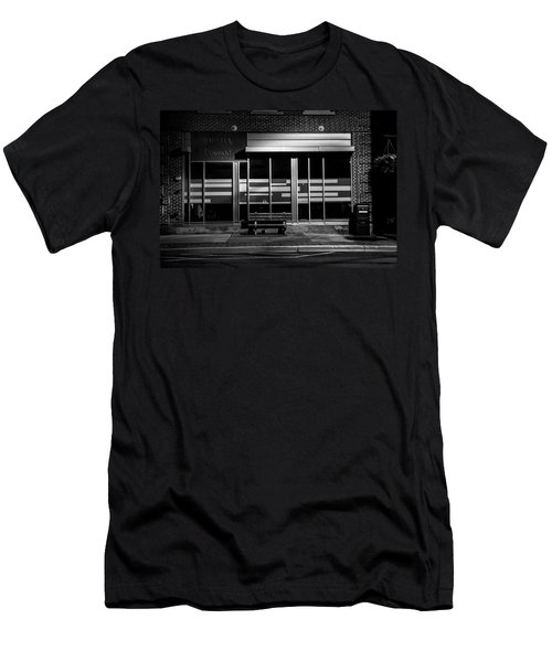 Daly Tea Company At Night Men's T-Shirt (Athletic Fit)