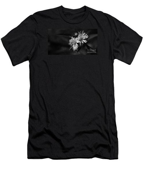 Men's T-Shirt (Athletic Fit) featuring the photograph Dames En Noir by Linda Shafer