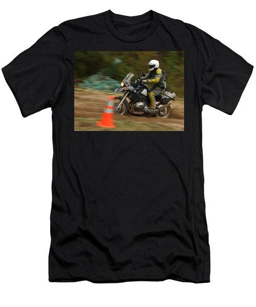 Dan In The Sand Men's T-Shirt (Athletic Fit)