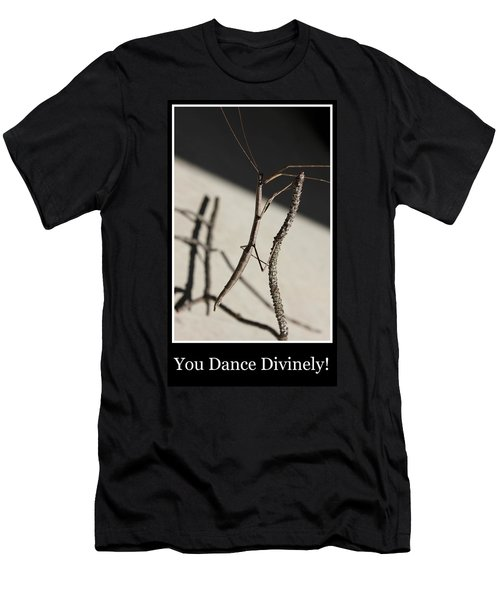 Dance Men's T-Shirt (Slim Fit) by Betty Northcutt