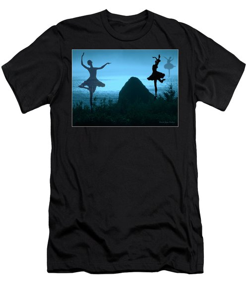 Men's T-Shirt (Slim Fit) featuring the photograph Dance Of The Sea by Joyce Dickens