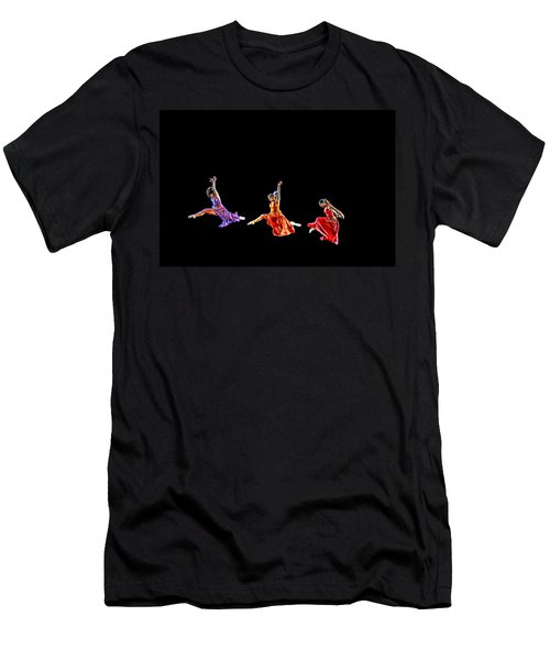 Dancers In Flight Men's T-Shirt (Athletic Fit)