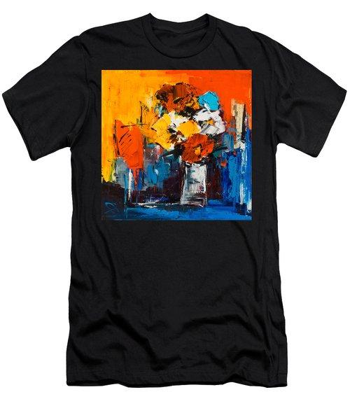 Dancing Colors Men's T-Shirt (Athletic Fit)