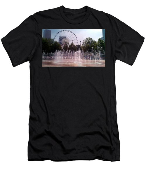 Dancing Fountains Men's T-Shirt (Athletic Fit)