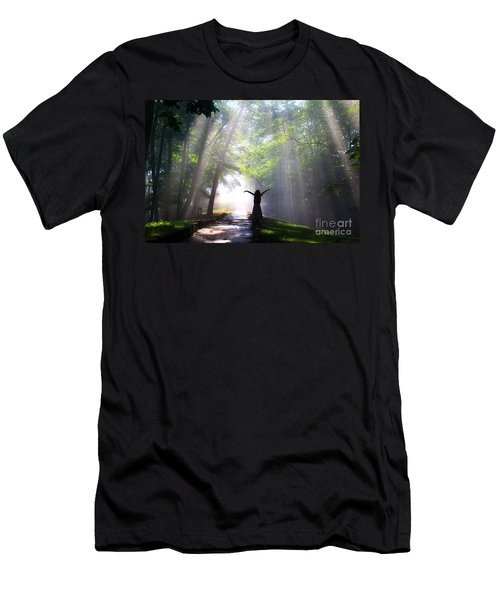 Dancing In God's Light Copyright Willadawn Photography Men's T-Shirt (Athletic Fit)