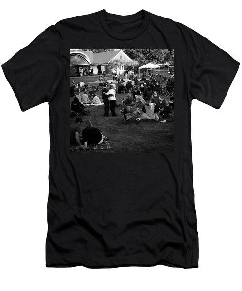 Dancing In The Park Men's T-Shirt (Athletic Fit)