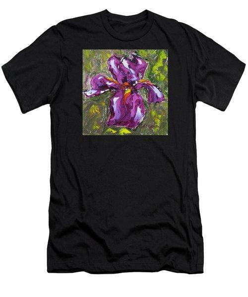 Dancing Iris Men's T-Shirt (Athletic Fit)