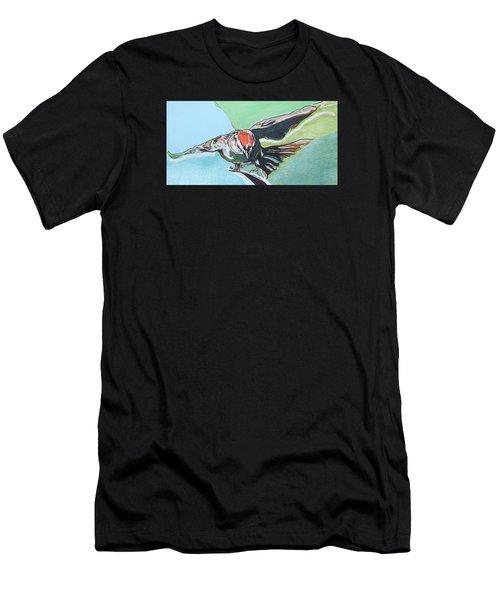 Dancing Sparrow Men's T-Shirt (Athletic Fit)