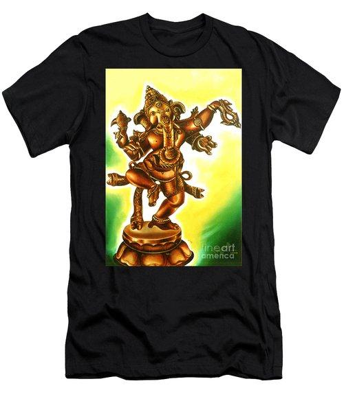 Dancing Vinayaga Men's T-Shirt (Athletic Fit)
