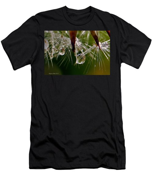 Dandelion Droplets Men's T-Shirt (Athletic Fit)