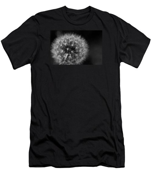 Dandelion Fluff Men's T-Shirt (Slim Fit) by Rebecca Davis