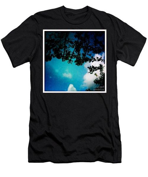 Dappled Sky Men's T-Shirt (Athletic Fit)