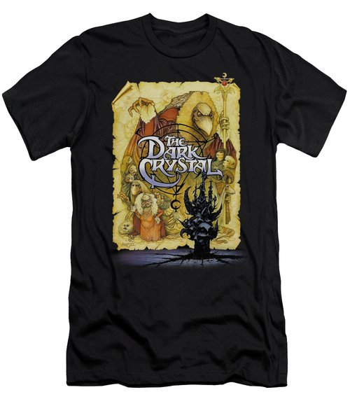 Dark Crystal - Poster Men's T-Shirt (Athletic Fit)