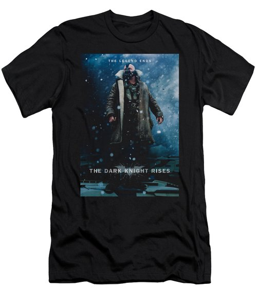 Dark Knight Rises - Bane Poster Men's T-Shirt (Athletic Fit)