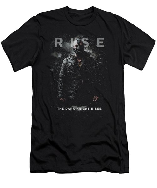 Dark Knight Rises - Bane Rise Men's T-Shirt (Athletic Fit)