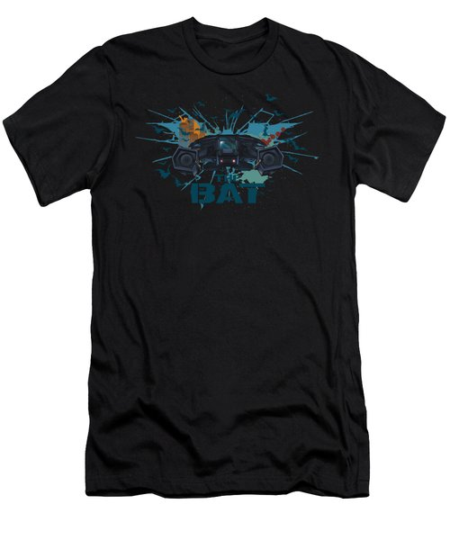 Dark Knight Rises - Coming At You Men's T-Shirt (Athletic Fit)