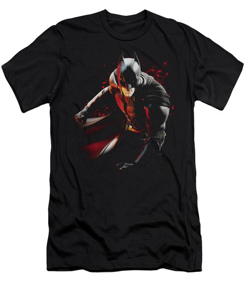Dark Knight Rises - Ready To Punch Men's T-Shirt (Athletic Fit)