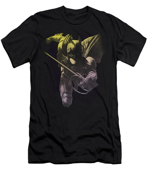 Dark Knight Rises - Rope Swing Men's T-Shirt (Athletic Fit)