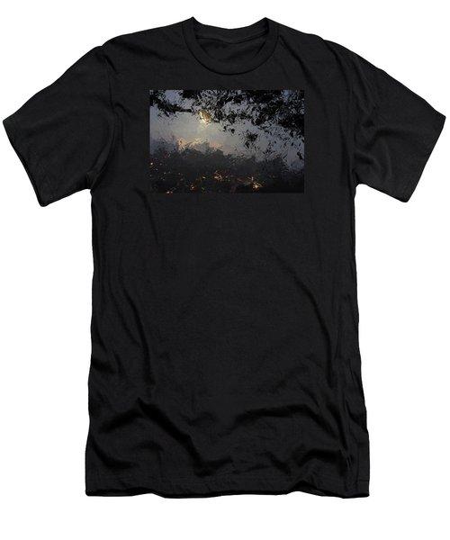 Dark Rain Men's T-Shirt (Slim Fit) by The Art of Alice Terrill