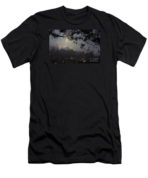 Dark Rain Men's T-Shirt (Athletic Fit)