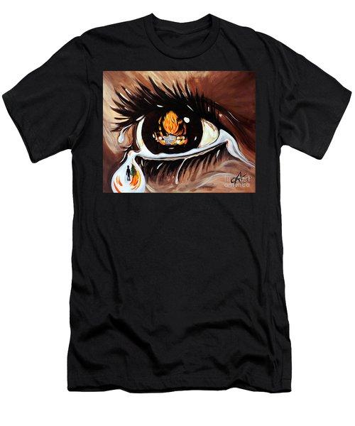 Dark Sorrow  Men's T-Shirt (Athletic Fit)