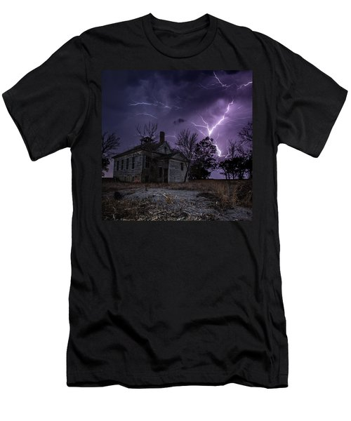 Dark Stormy Place Men's T-Shirt (Athletic Fit)