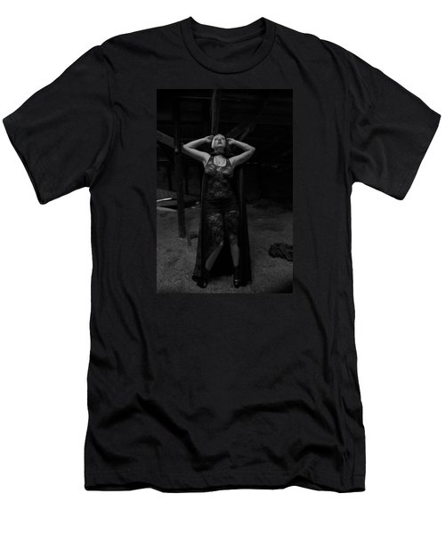 Men's T-Shirt (Slim Fit) featuring the photograph Dark Witch's Yearning by Mez