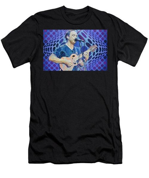 Dave Matthews-op Art Series Men's T-Shirt (Athletic Fit)