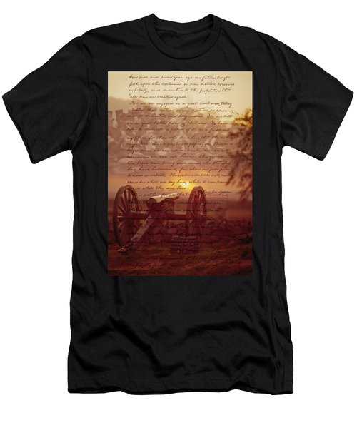Dawn At Gettysburg Men's T-Shirt (Athletic Fit)