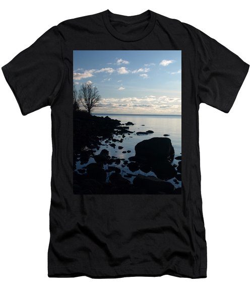 Men's T-Shirt (Slim Fit) featuring the photograph Dawn At The Cove by James Peterson