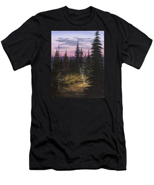 Dawn Fire Men's T-Shirt (Slim Fit) by Jack Malloch