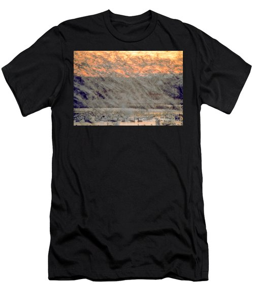 Dawn Liftoff Men's T-Shirt (Athletic Fit)