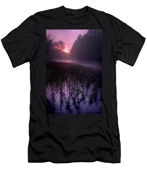 Dawn Mist Men's T-Shirt (Athletic Fit)