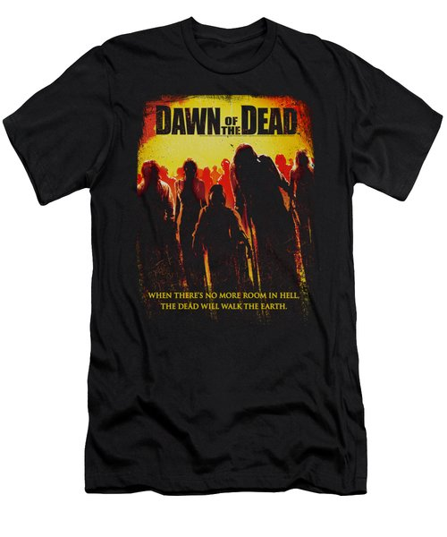 Dawn Of The Dead - Title Men's T-Shirt (Athletic Fit)