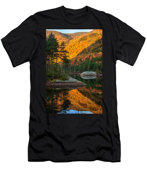 Dawns Foliage Reflection Men's T-Shirt (Athletic Fit)