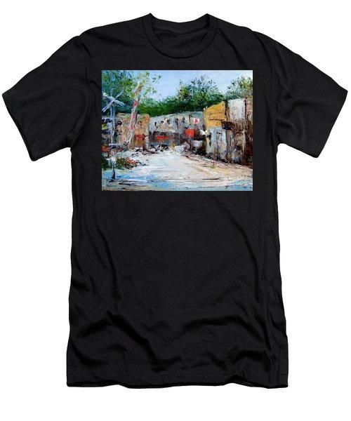 Railroad Crossing Men's T-Shirt (Athletic Fit)