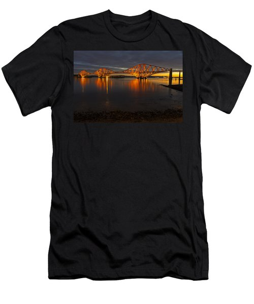 Daybreak At The Forth Bridge Men's T-Shirt (Athletic Fit)