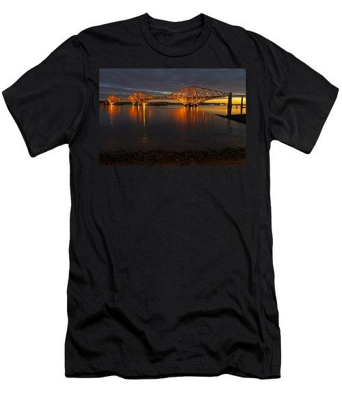 Daybreak At The Forth Bridge Men's T-Shirt (Athletic Fit)