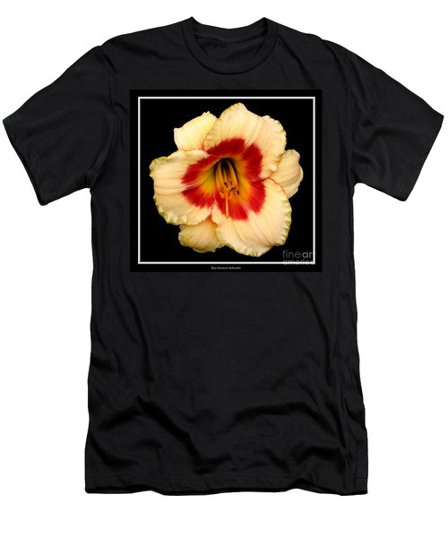 Men's T-Shirt (Slim Fit) featuring the photograph Daylily 3 by Rose Santuci-Sofranko