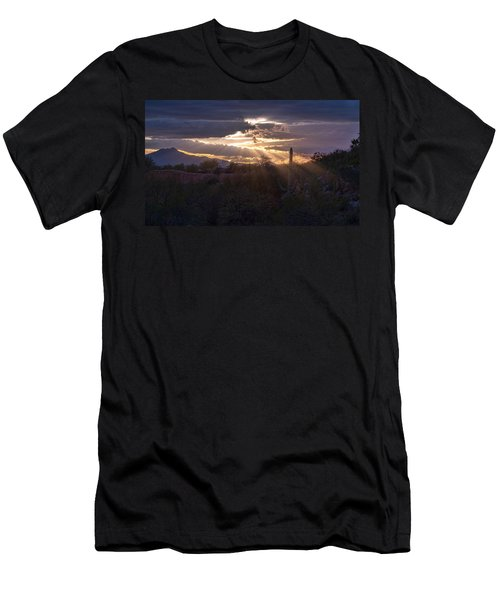 Men's T-Shirt (Slim Fit) featuring the photograph Days End by Dan McManus