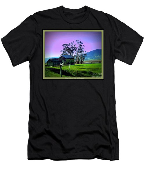 Men's T-Shirt (Slim Fit) featuring the photograph Days Gone By by Bobbee Rickard
