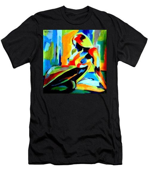 Dazzling Light Men's T-Shirt (Athletic Fit)