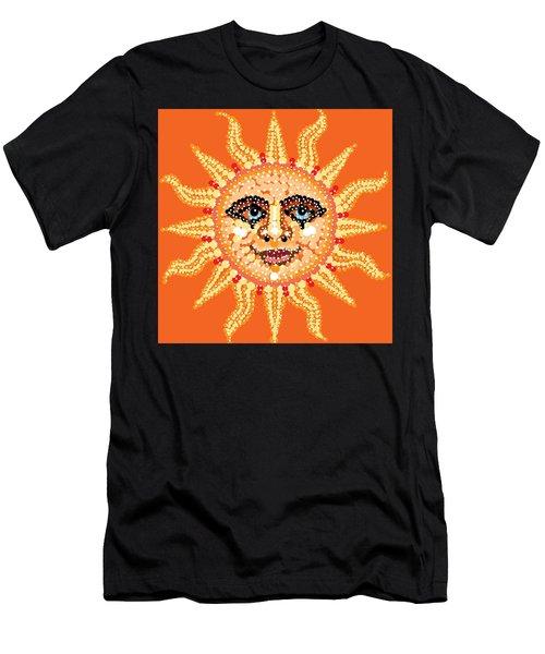 Dazzling Sun Men's T-Shirt (Athletic Fit)