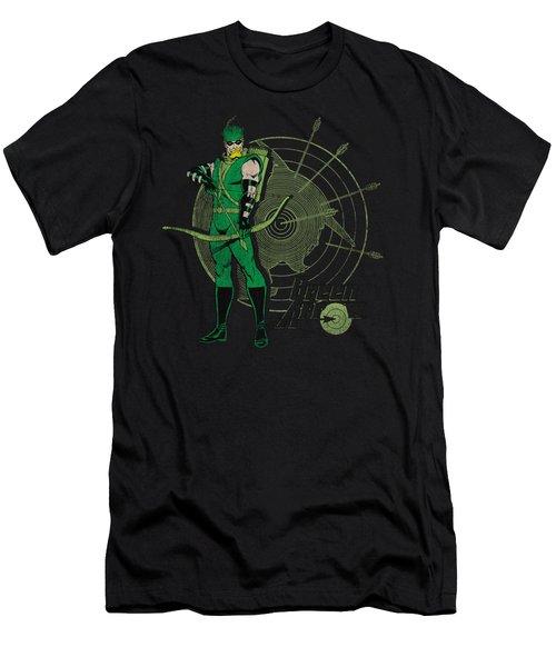 Dc - Arrow Target Men's T-Shirt (Athletic Fit)