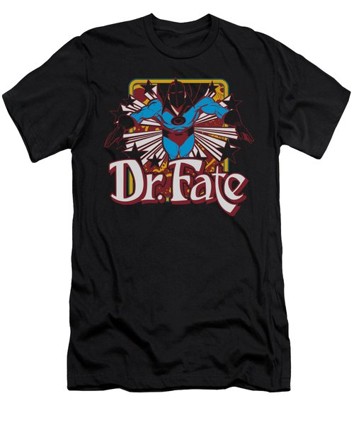 Dc - Dr Fate Stars Men's T-Shirt (Athletic Fit)