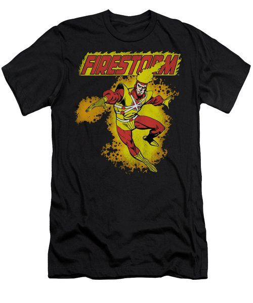 Dc - Firestorm Men's T-Shirt (Athletic Fit)