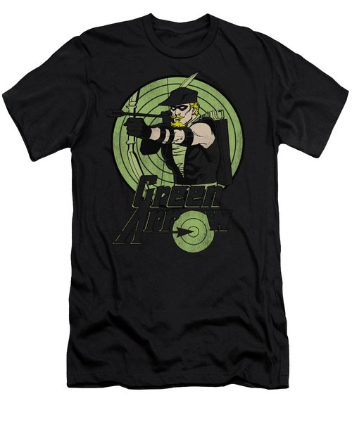 Dc - Green Arrow Men's T-Shirt (Athletic Fit)